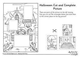 halloween colouring booklet younger