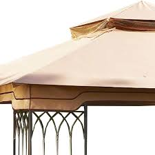 10x10 Canopy Frame Only by Replacement Canopy For Steel Frame 10x10 Riplock 350 Garden Winds