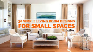 30 simple living room designs for small spaces youtube
