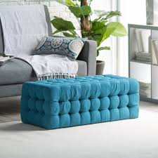 Ottoman Shelf by Coffee Table Trendy Tufted Ottoman Coffee Table With Shelf Tufted