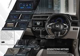 Interior Mobilio Honda Mobilio Dealer Honda Pradana Sawangan Sales Marketing
