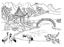 top nature coloring pages perfect coloring pag 1831 unknown