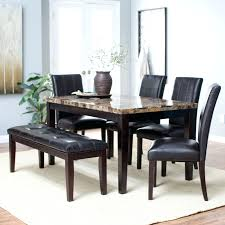 inspiring marble dining table ideas carter dark brown wood and