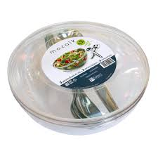 costco uk sabert 36 piece serve store 3 5l salad bowl set 9
