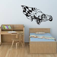 race car wall decals for kids inspiration home designs image of sports race car wall decals