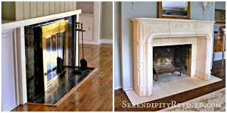black friday rooms to go serendipity refined blog french replica limestone fireplace