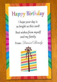 sample of birthday card birthday wishes messages and greetings