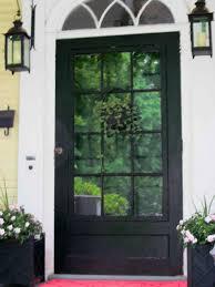 Steel Exterior Doors With Glass Front Door Glass Entrance Door To Transform Your Home Plain