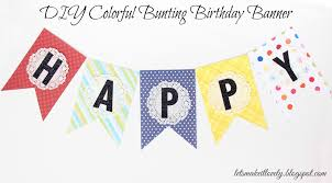 diy creative diy happy birthday banner template home design