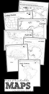 Blank Continent Map by Free Printable Blank Maps