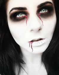 red eye contacts for halloween 17 extraordinary and easy halloween makeup ideas easy