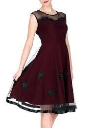 miusol women u0027s elegant illusion floral lace cap sleeve bridesmaid