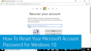 reset windows password phone how to reset your microsoft account password for windows 10 using