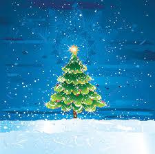 snow tree vector material free vectors ui