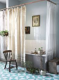 Copper Pipe Shower Curtain Rod An Cottage Look Inspired By The Book The Forgotten Garden