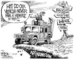jeep cartoon drawing afghanistan 10 years later