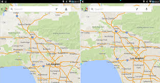 Maps Google Com Los Angeles by Google Maps Version 8 2 Is Out Download And Install It Now Apk