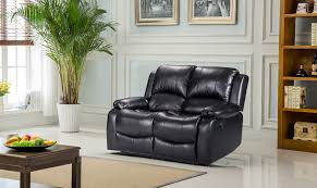 2 Seater Leather Recliner Sofa by Luxury Electric Valencia 2 Seater Bonded Leather Recliner Sofa