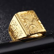 men s ring rock eagle men s ring luxury resizeable to 7 11