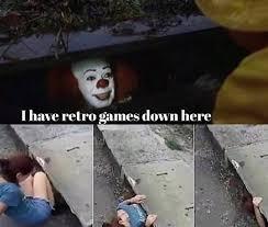the 25 best it sewer clown memes inverse