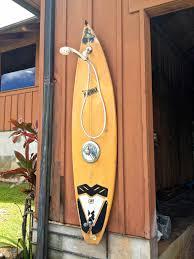 surfboard outdoor shower google search home ideas pinterest