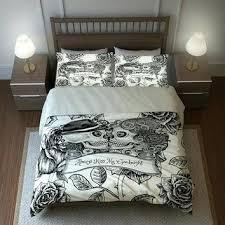 Comforter Set Uk Sugar Skull Duvet Cover Uk Skull Duvet Cover Queen Skull Bedding
