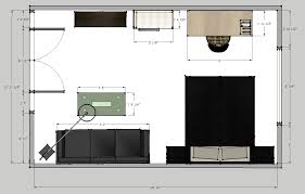bachelor pad living room bedroom design decorilla attach a floor plan