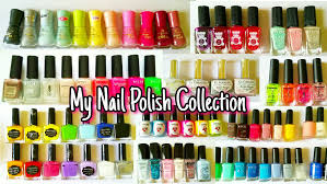 my nail polish collection youtube