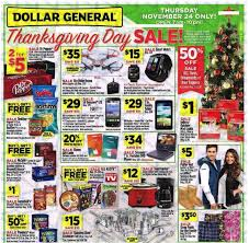 dollar general thanksgiving and black friday ad scan