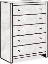 Mirror Chest Of Drawers Domaine Chest Mirror Value City Furniture