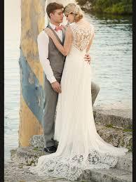 essense of australia d1962 sweetheart chiffon sheath bridal dress
