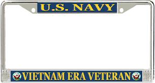 famu alumni license plate frame navy era veteran license plate frame