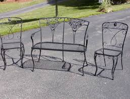 Outdoor Furniture Vancouver by Bench The Timeless Elegance Of Wrought Iron Patio Furniture