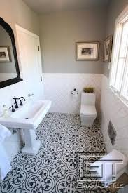 moroccan bathroom ideas i the tile with white tile makes space feel