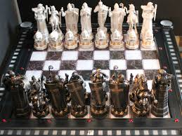 harry potter final challenge chess set at mighty ape australia