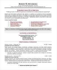 resume format exle electrician resume format template 5 free word excel pdf