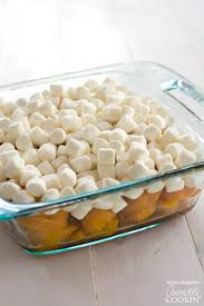 candied yams with or without marshmallows