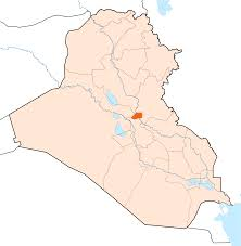baghdad on a map baghdad on a map