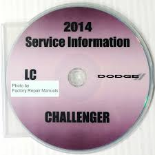 2014 dodge challenger factory service manual cd rom original shop