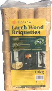 premium larch heat logs