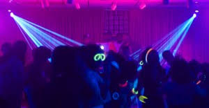 glow in the party decorations highlighter theme party blacklight party ideas photos