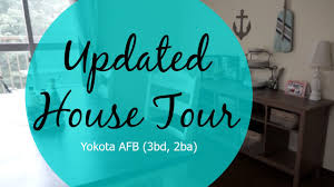 updated house tour yokota afb tower youtube