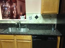 Baltic Brown Granite Countertops With Light Tan Backsplash by Kitchen Backsplash Goes With Desert Brown Granite Yahoo Image
