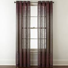 Purple Sheer Curtains 63 Inch Purple Sheer Curtains For Window Jcpenney