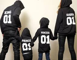 family matching 01 queen king princess prince matching