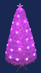 3ft blue luminescence fibre optic tree