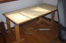 Large Drafting Table Estate Tag Sale Inside Private Home In Michiana Mi Starts On 10