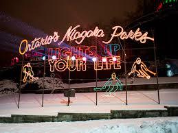 festival of lights niagara falls winter festival of lights in niagara falls ontario runs november