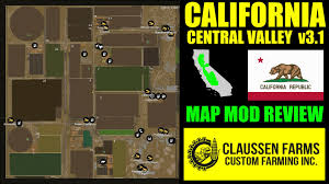 california map fs15 farming simulator 2015 mod review california central valley map