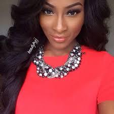 jennie jenkins beautybyjj makeup artist you guru black beauty flawless statement necklace